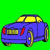 Elite fantastisches Auto Färbung Spiel