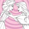Elsa und Anna gefrorene Färbung Spiel