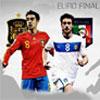 EURO Finale Spanien Vs Italien Spiel