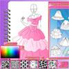 Modedesign Studio - Prinzessin Kleid Spiel