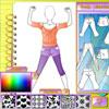 Mode-Studio - Sport-Outfit Spiel