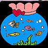 Fantastische Aquarium Färbung Spiel