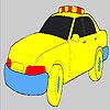 Schnelle Polizei Auto Färbung Spiel