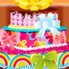 Fünf Schichten Kuchen Spiel