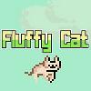 Flauschige Katze Spiel