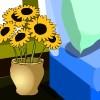 Blumen nach Hause Flucht Spiel