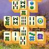 Vier Jahreszeiten-Mahjong Spiel