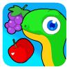 Obst-Schlange Spiel