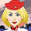 Französisch Stewardess DressUp Spiel