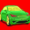 Voller Geschwindigkeit Auto Färbung Spiel