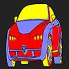 Lustige heißen Auto Färbung Spiel
