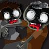 Volles Haus mit Zombies Spiel