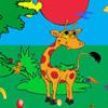 Giraffe-Abenteuer Spiel
