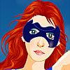 Mädchen Superhero Dressup Spiel