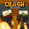 Crash-Soldat zu gehen Spiel