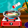 Gegrillter Fisch mit Zitrone Spiel