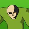 Grüne Alien Spiel