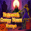 Halloween Creepy House Escape Spiel