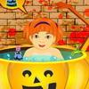 Halloween-Baby Baden Spiel