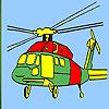 Schweren Helikopter Färbung Spiel