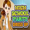 High-School-Party Dress Up Spiel