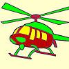 Heißen Hubschrauber Färbung Spiel