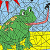 Hungry frog coloring Spiel