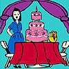 Jenny bei der Geburtstagsfeier Färbung Spiel