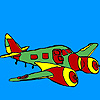 Jet airplane coloring Spiel