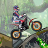 Dschungel Moto Trial Spiel