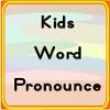 Kinder-Wort auszusprechen Spiel