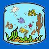 Laterne-n die Fische Färbung Spiel