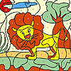 Little lion coloring Spiel