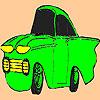 Kleine alte Auto Färbung Spiel