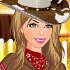 Kleinen Cowgirl Schrank Spiel