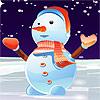 Lovely Snowman Dressup Spiel