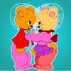 Lovely Bear Coloring Spiel