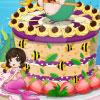 Schöne Meerjungfrau Kuchen Spiel
