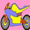 Metall Motorrad Färbung Spiel
