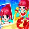 Meerjungfrauen-Weihnachts-Stil Spiel