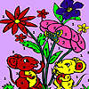 Mice in the garden coloring Spiel