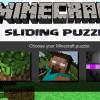 Minecraft-Schiebe-Puzzle Spiel