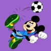 Mickey-Mouse-Farben Spiel