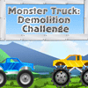 Monster Truck Demolition Challenge Spiel