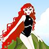 Molly-Meerjungfrau Dress up Spiel