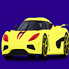 Modern and fast car coloring Spiel