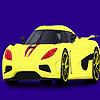 Moderne und schnelle Auto Färbung Spiel