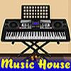 Musik House Escape Spiel