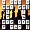 Geheimnisvolle Skulpturen Mahjong Spiel