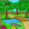 Nature Scenery Coloring Spiel